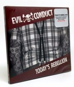 EVIL CONDUCT – Today's Rebellion capa