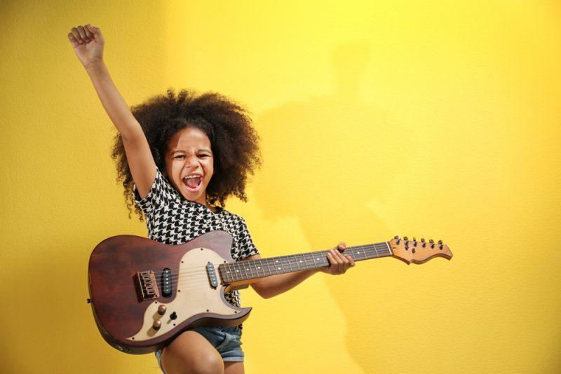 criança rock